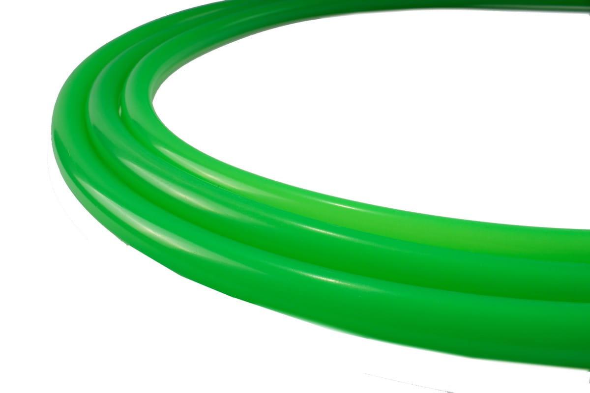 Silikonschlauch Soft Touch Matt - Neongrün
