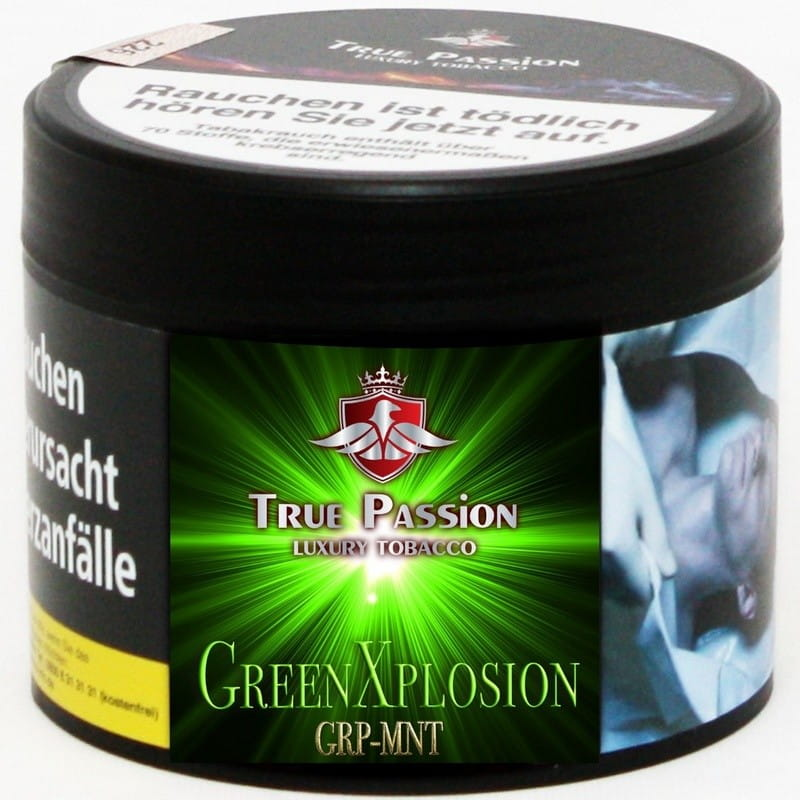 True Passion Tabak - Green Explosion 200 g