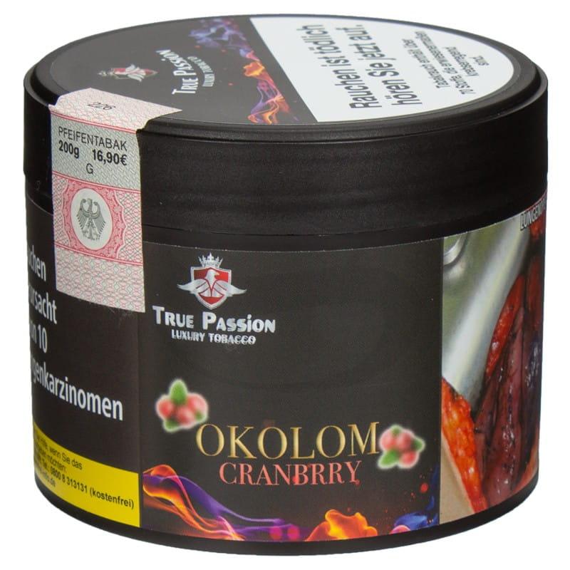 True Passion Tabak Okolom Cranbrry 200 g