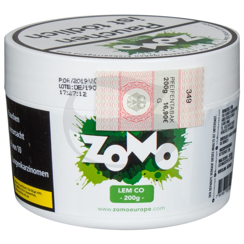 Zomo Tabak - Lem Co 200 g