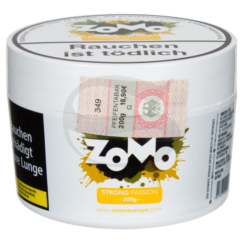 Zomo Tabak - Strong Passion 200 g
