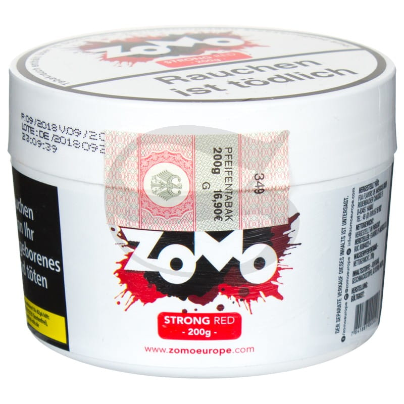 Zomo Tabak - Strong Red 200 g
